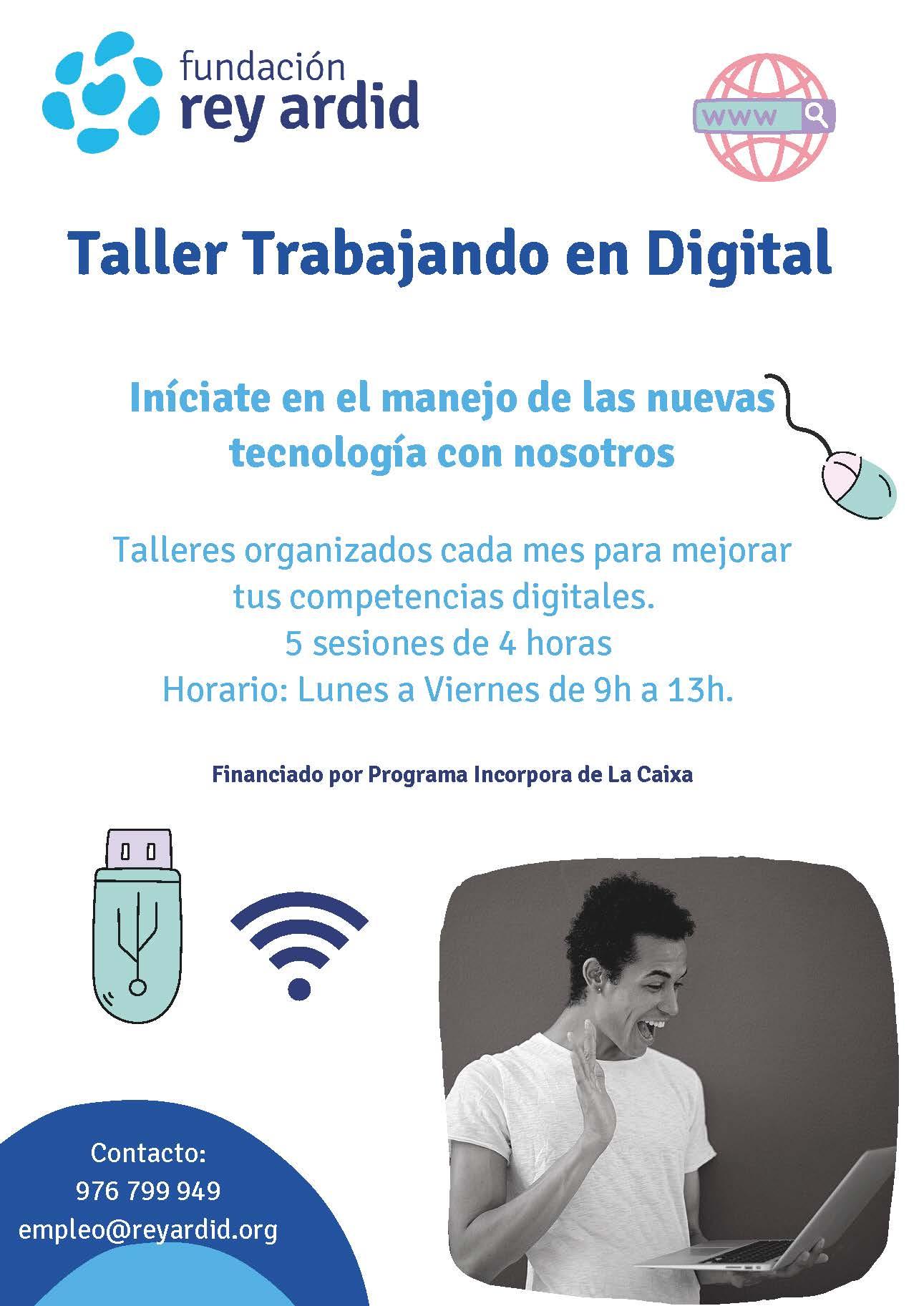 Talleres Trabajando en Digital