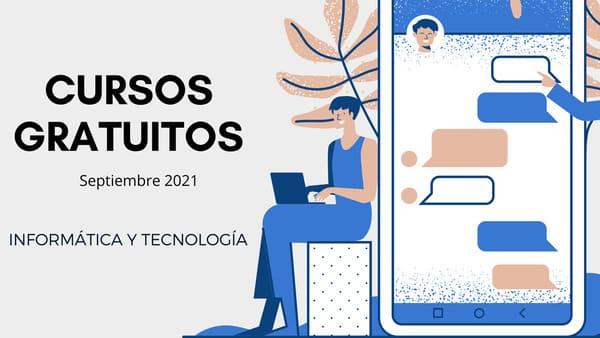 Cursos gratuitos de tecnología